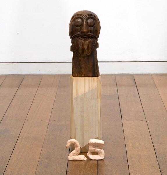 Mikala Dwyer 25, 2009; wood ; 40 x 10 x 10 cm; enquire