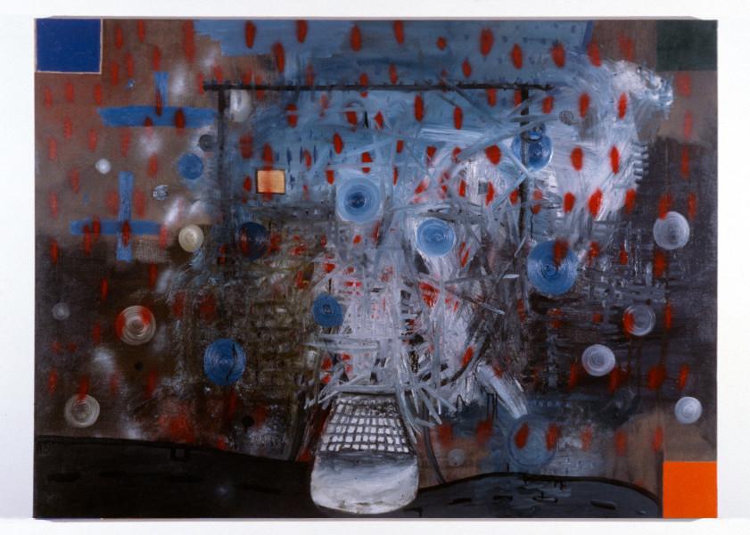 Gareth Sansom Faceless, 1987; oil on canvas; 167 x 228.5 cm; enquire