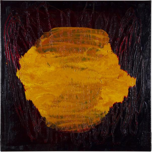 Gareth Sansom Void, 2012; oil and enamel on linen; 60 x 60 cm; enquire