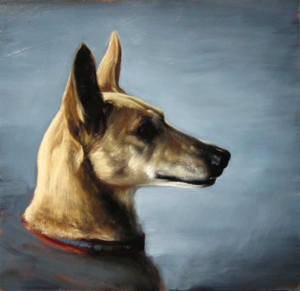 Louise Hearman Untitled #1126, 2005; oil on masonite; 44 x 46 cm; enquire