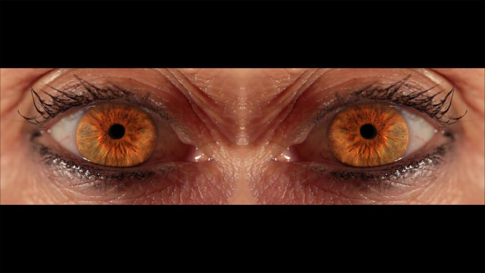 Julie Rrap Double Eclipse, 2015; single-channel video projection; Edition of 3 + AP 1; enquire