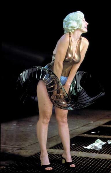 Julie Rrap Window Dresser #1 (Marilyn), 2000; type c colour photograph; 195 x 122 cm; Edition of 9; enquire