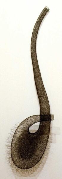 Bronwyn Oliver Clef, 1993; Copper; 110 x 45 x 40 cm; enquire