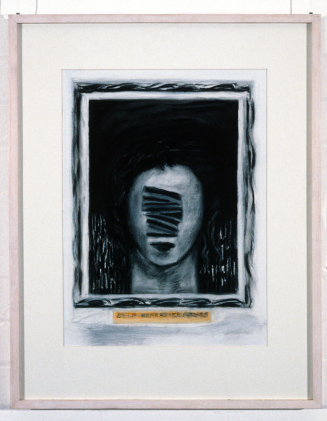 Kristine Rose Self Reference 1982-85, 1986; charcoal, pastel & graphite on paper; enquire