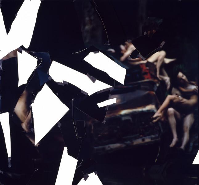 Bill Henson Untitled, 1994; type C photograph, adhesive tape, pins, glassine; 185 x 200.2 cm; enquire