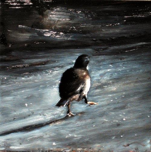 Louise Hearman Untitled #1140, 2005; oil on masonite; 31 x 31 cm; enquire