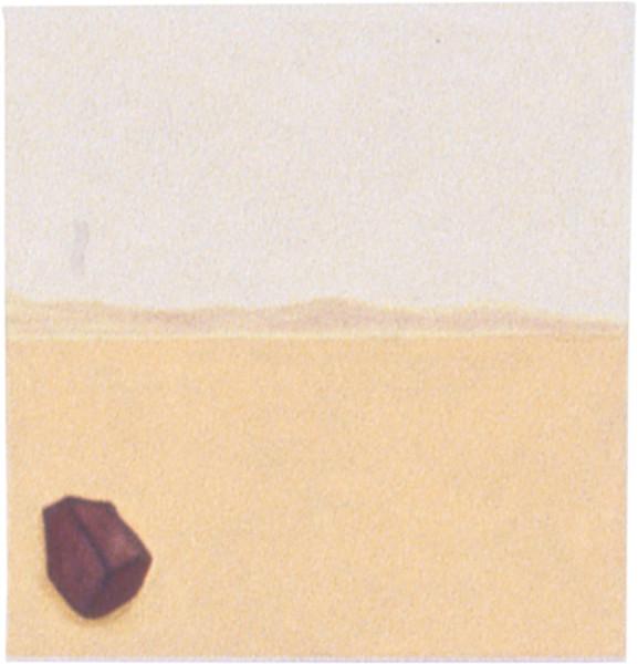 Fiona Foley Stone Axe, 1998; oil on canvas; 40 x 37 cm; enquire