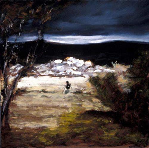 Louise Hearman Untitled #  1045, 2003; oil on masonite; 40 x 46 cm; enquire