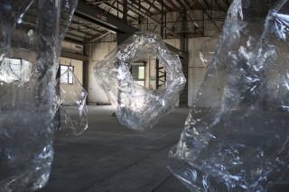 Mikala Dwyer The Hollows (detail), 2014; PETG; dimensions variable; enquire