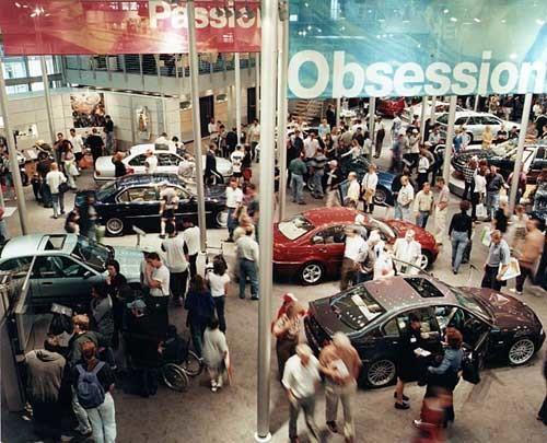 Anne Zahalka Motor Show, 1999; type C photograph; 115 x 145 cm; Edition of 12; enquire