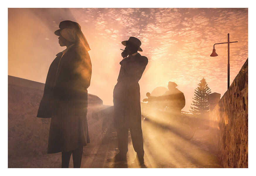 Tracey Moffatt Hell, 2017; from the series Passage; digital C-print on gloss paper; 102 x 153 cm; (image size); Edition of 6 + AP 2; enquire