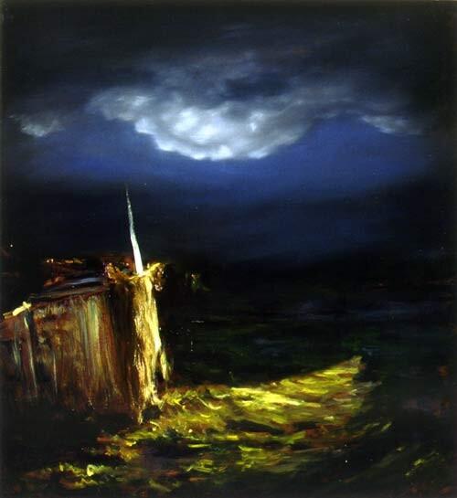 Louise Hearman Untitled #642, 1998; Oil on masonite; 91 x 81 cm; enquire