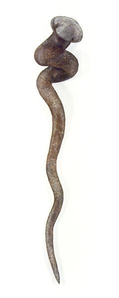 Bronwyn Oliver Swathe, 1997; copper; 180 x 300 x 300 cm; enquire