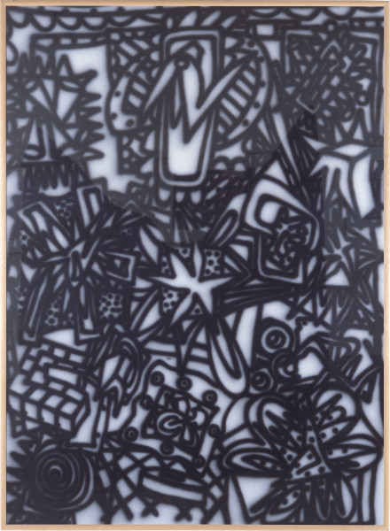 Howard Arkley Razz-Dazz, 1984; synthetic polymer on rag paper; 110 x 150 cm; enquire