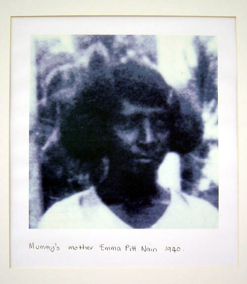 Destiny Deacon Mummy's Mother: Emma Pitt Nain, 1940, 1998; 42.1 x 29.7 cm; Edition of 18; enquire