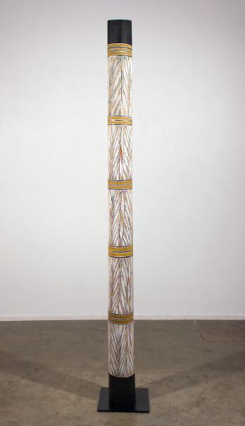 Mulkun Wirrpanda Rakay Larrakitj, 2015; 3288D; Larrakitj; 217 cm; Enquire