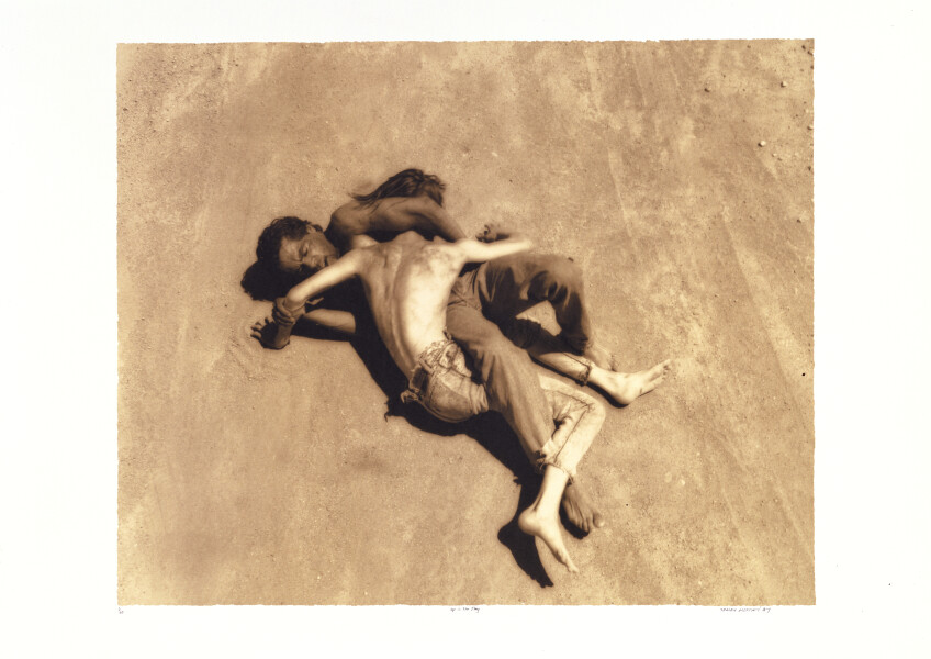 Tracey Moffatt Up In The Sky  # 18, 1997; Off set print; 88 x 103.5 cm; 72 x 102  paper size; Edition of 60 + AP 8; enquire