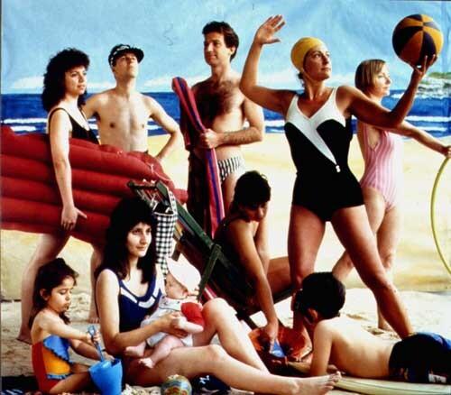 Anne Zahalka The Bathers, 1989; type C colour photographs; 74 x 90 cm; Edition of 20; enquire