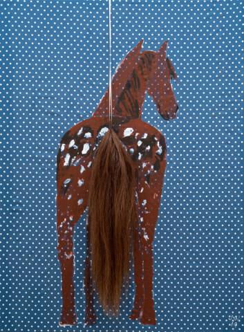 Jenny Watson, 'A Horses Tale,' Saatchi Gallery, London