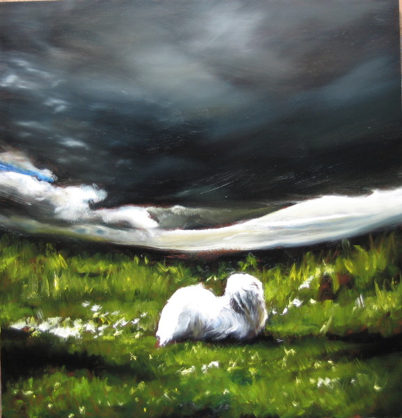 Louise Hearman Untitled #1120, 2005; oil on masonite; 65 x 61 cm; enquire