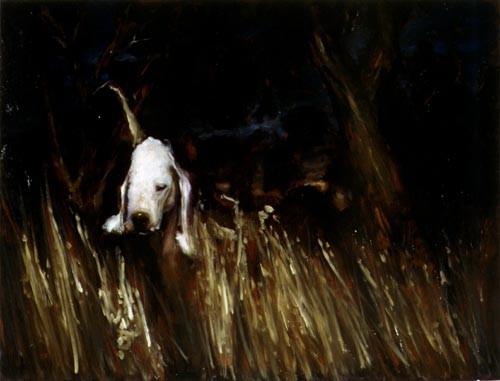 Louise Hearman Untitled #654, 1998; oil on masonite; 69 x 91 cm; enquire