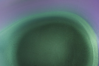 Dale Frank Jeff and Gavin (detail), 2021; Interference colour pigment in Epoxyglass, on Perspex; 200 x 200 cm; enquire