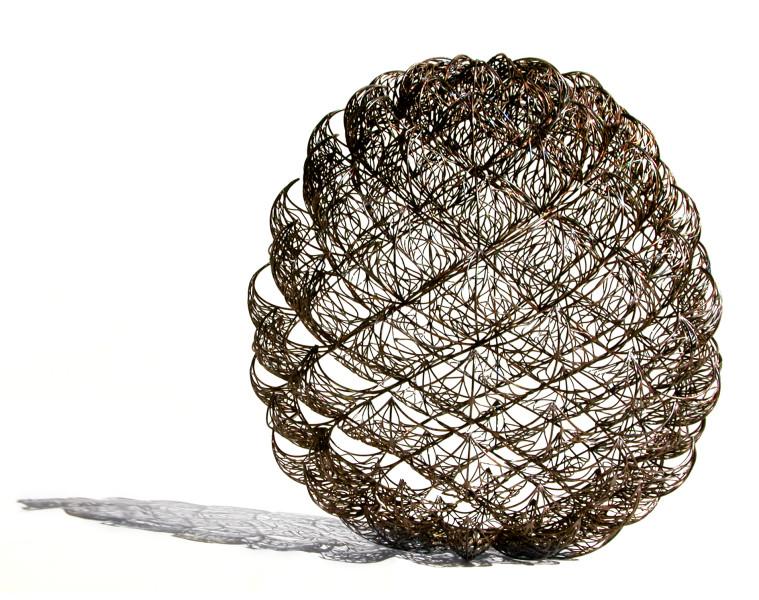 Bronwyn Oliver Grandiflora (Bud), 2005; copper; 60 x 58 x 58 cm; enquire