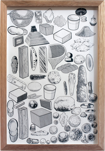 Teppei Kaneuji Games, Dance and the Constructions (Building Materials) #1, 2011; collage on photograph; 31 x 21.5 cm; enquire