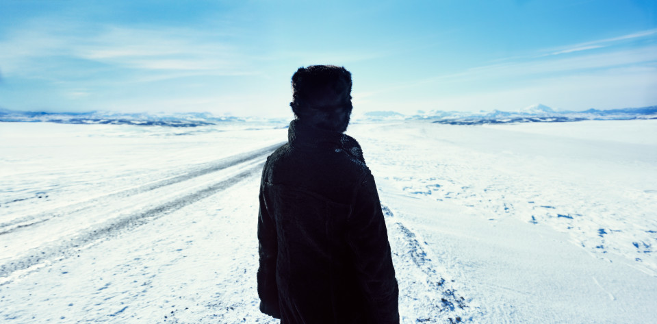 Isaac Julien True North Series, Ice Project Work No. 7, 2006; duratrans in lightbox; 120 x 245 cm; Edition of 6 + AP 1; enquire