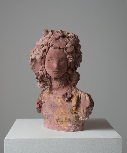 Linda Marrinon Remembrance, 2014; tinted and painted plaster; 37.5 x 22 x 22 cm; enquire