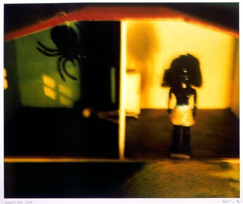 Destiny Deacon Home Truths, 2001; from the series Forced Into Images; Light jet prints from Polaroid originals; 77 x 95 cm; Edition of 20; enquire