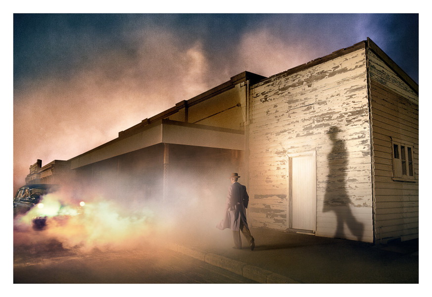 Tracey Moffatt Shadow Man, 2017; from the series Passage; digital C-print on gloss paper; 102 x 153 cm; (image size); Edition of 6 + AP 2; enquire