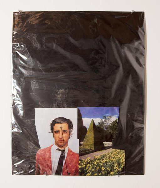 Jacqueline Fraser The Making of La Mariee Etait en Noir 2012, 2013; Mixed media collage; 74 x 60 cm; enquire