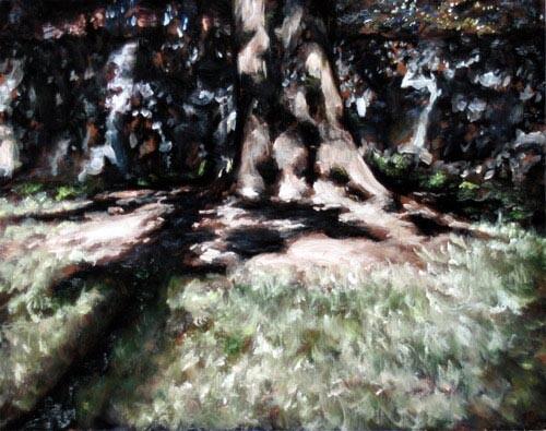 Louise Hearman Untitled #1122, 2005; oil on masonite; 48 x 61 cm; enquire