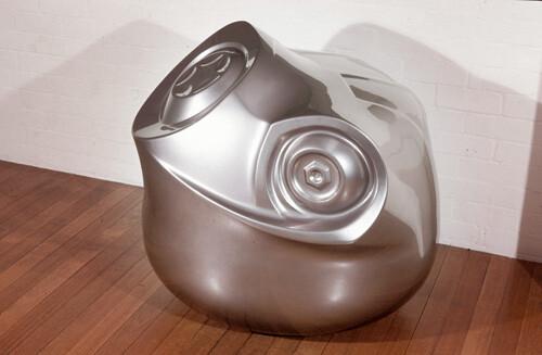 Patricia Piccinini Liquid Steel, 2002; fiberglass and automotive paint; 90 x 80 x 80 cm; enquire