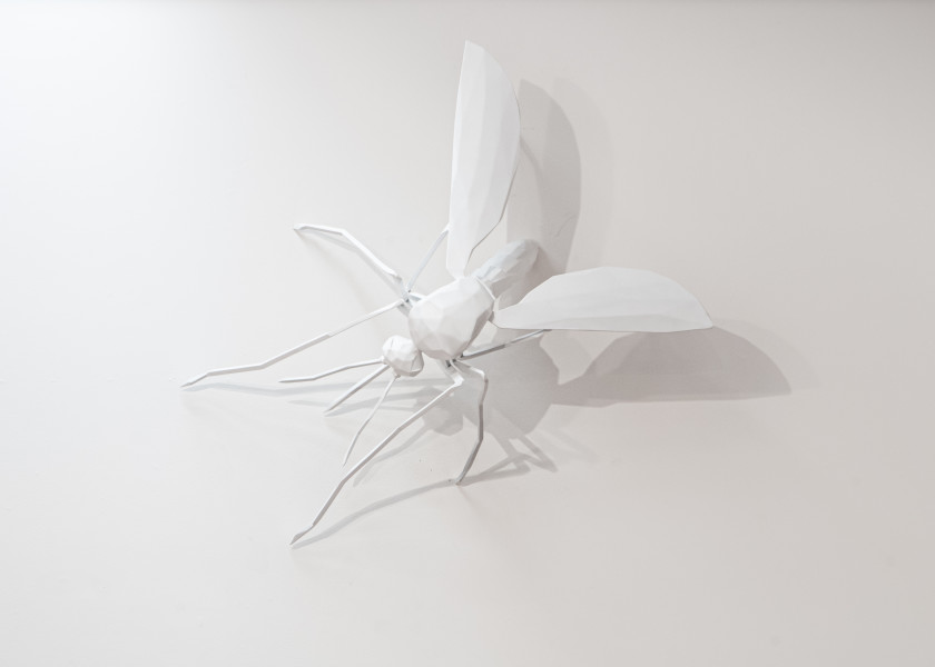 James Angus Mosquito, 2008; bronze and acrylic; 46 x 80 x 99 cm; Edition of 3 + AP 1; enquire