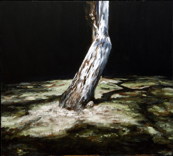 Louise Hearman Untitled #1051, 2004; Oil on masonite; 62 x 68.5 cm; (framed); enquire