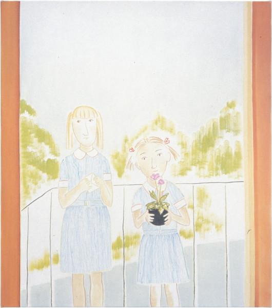 Vivienne Shark LeWitt The Cyclamen, 2001; oil on linen; 87 x 76 cm; enquire