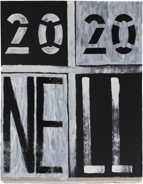 Nell 2020 NELL, 2018; acrylic paint on linen; 93.5 x 72.5 cm; enquire