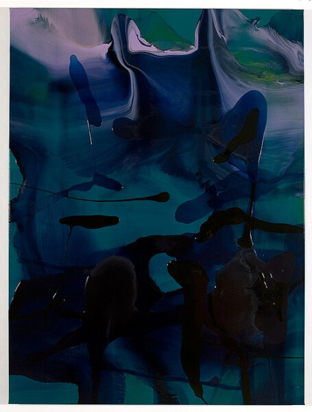 Dale Frank Gilead, 2008; varnish on canvas; 160 x 120 cm; enquire