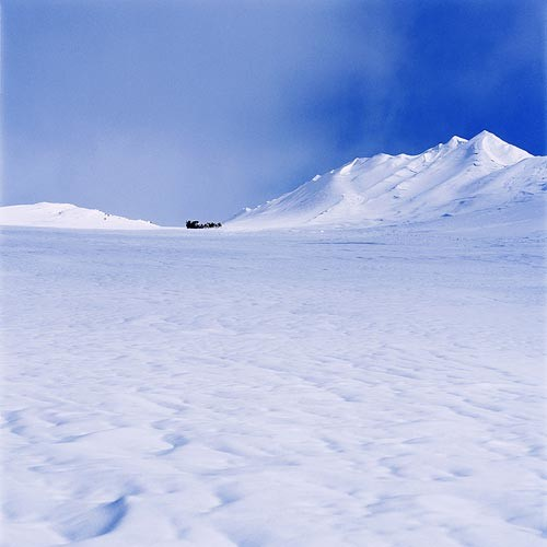 Isaac Julien True North Series, Ice Project Work No. 3, 2006; duratrans in lightbox; 120 x 120 cm; Edition of 6 + AP 1; enquire