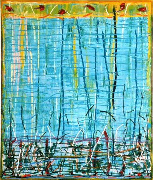 Michael Johnson Silent Noon, 1986; oil on linen; 210 x 180 cm; enquire