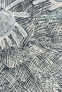 Nyapanyapa Yunupingu Djulpan, 2020; 4103-20; natural earth pigments on paper; 109 x 72.5 cm; enquire