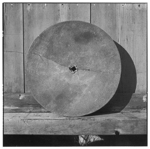 Bill Culbert Stone wheel broken, 2002; Edition of 25; enquire