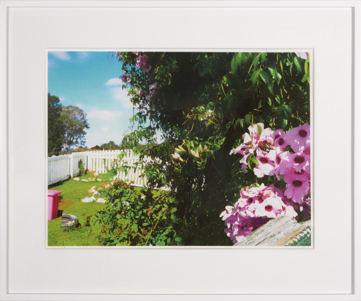 Tracey Moffatt Picturesque Cherbourg No.5, 2013; digital print collage on handmade paper; 57 x 78 cm; Edition of 8; enquire