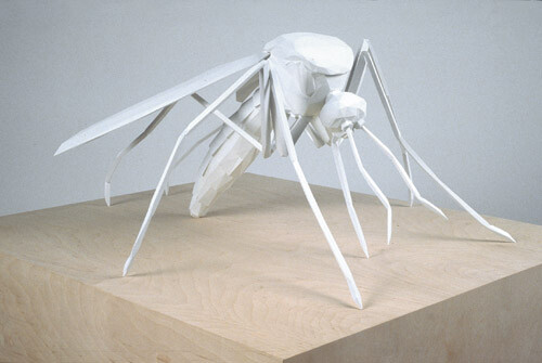 James Angus Mosquito, 2004; polyrethane, acrylic paint; 46 x 80 x 99 cm; Edition of 3 + AP 1; enquire