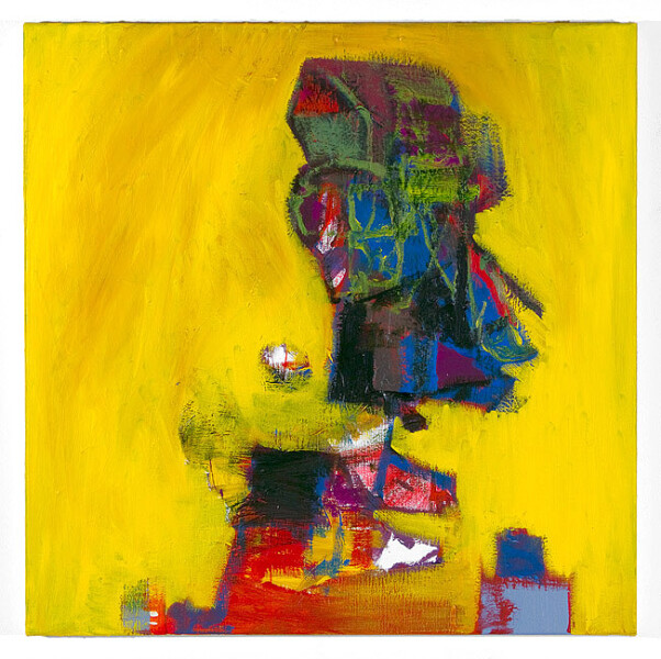 Gareth Sansom Antipodean (Bernard Smith), 2012; oil and enamel on linen; 60 x 60 cm; enquire