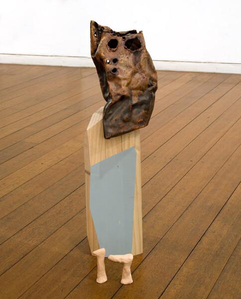 Mikala Dwyer 17, 2009; wood, copper, enamel paint; 50 x 15 x 12 cm; enquire