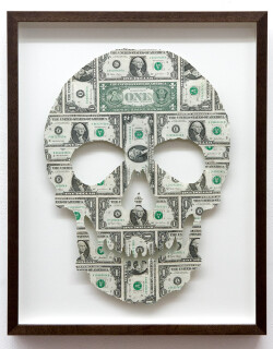 Fiona Hall 21st Century Man, 2011; US Dollars ; 47 x 34 cm; Unique work from a series of 25; Edition of 25; enquire