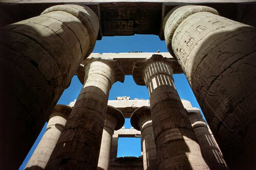 Harry Seidler Karnak, Temple of Amun, 1983; from the series Architect: Unknown; 71 x 106.5 cm (image size) 95.5 x 125 cm (frame size) edition of 6; enquire